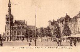B34828 Tourcoing,  La Place Et La Bourse - France