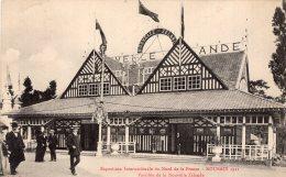 B34871 Exposition   Roubaix 1911, Pavillon De La Nouvelle Zélande - France