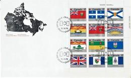 Canada - Mi-Nr 731/742 FDC (x747) - Briefe
