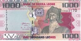 BILLETE DE SIERRA LEONA DE 1000 LEONES DEL AÑO 2013 EN CALIDAD EBC (XF)    (BANKNOTE) - Sierra Leona