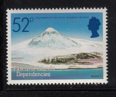Falkland Islands Dependencies 1984 MNH Scott #1L87 52p Bristol Volcanic Islands - Falkland