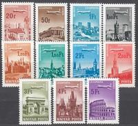 UNGARN 1966 - MiNr: 2280 - 2290 Komplett  **/MNH - Hungary