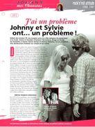 Johnny Hallyday Et SYLVIE VARTAN  1973 J'ai Un Problème  Avec Paroles Sur 2ème Scann - Posters