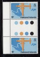 Falkland Islands 1979 MNH Scott #288 11p Fokker F27 - Falkland