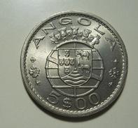 Portugal Angola 5 Escudos 1972 - Portugal