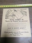 ANNEES 30 PUBLICITE LA PIE QUI CANTE GALEJADES CORNILLOT FOIRE DE  LILLE LA CIGOGNE - Collections
