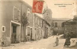 52 , GUDMONT , La Poste , * 373 56 - Frankrijk
