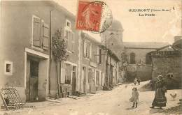 52 , GUDMONT , La Poste , * 373 56 - Sonstige Gemeinden