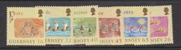 Guernsey Set Of 6, Allegiance To England - 2004 Unmounted Mint NHM - Guernsey