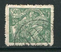 TCHECOSLOVAQUIE- Y&T N°180- Oblitéré - Used Stamps