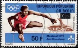 BENIN 1979 Surcharges 50/60F Used - Benin - Dahomey (1960-...)