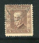 TCHECOSLOVAQUIE- Y&T N°216- Oblitéré - Used Stamps