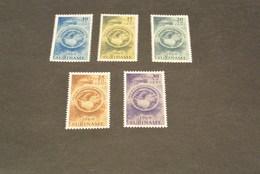 K13336-set MNH Suriname 1969- SC.B152-156- Easter Charities - Surinam ... - 1975