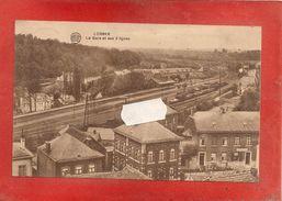 LOBBES - La Gare Et Ses Deux Lignes - Lobbes