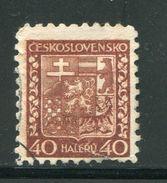 TCHECOSLOVAQUIE- Y&T N°257- Oblitéré - Used Stamps