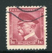 TCHECOSLOVAQUIE- Y&T N°302- Oblitéré - Cecoslovacchia