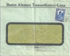 "Motiv Brief  ""Banco Aleman Transatlantico-Lima"" - Firenze            1933 - Peru"