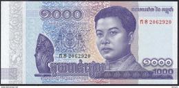 Cambodia 1000 Riels 2016 Pnew UNC - Cambodia