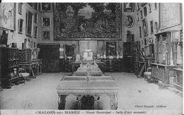 51 - CHALONS-SUR-MARNE  - MUSEE MUNICIPAL -  SALLE D ART DECORATIF - Châlons-sur-Marne