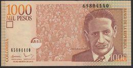 Colombia 1000 Pesos 2015 P456t UNC - Colombie