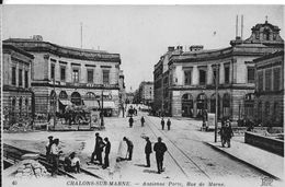 51 - CHALONS-SUR-MARNE  - ANCIENNE PORTE RUE DE LA MARNE - Châlons-sur-Marne