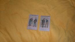 LOT DE 2 CHROMOS OU IMAGES ANCIENNES DATE ?. / SOCIETE GENERALE DES CIRAGES FRANCAIS. / FULGOR.. - Trade Cards