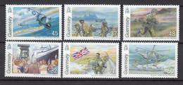 Guernsey Set 6, Battle For Falklands 2007- Unmounted Mint NHM - Guernesey