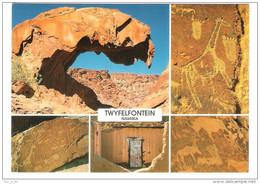 Namibia - Twyfelfontein In Damaraland - Nice Stamps - Namibia