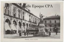 Italie - BRESCIA - Piazza Vecchia +++++ Fratelli Geroldi, Brescia ++++ RARE / Tramway - Brescia