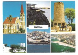 Namibia - Views - German Lutheran Church - Namibia