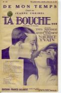 CAF CONC OPÉRETTE TA BOUCHE PARTITION DE MON TEMPS MAURICE YVAIN WILLEMETZ MIRANDE 1922 JEANNE CHEIREL - Opera