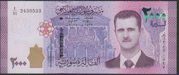 Syria 2000 Pound 2015  Pnew UNC - Siria