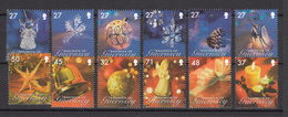 Guernsey 2007 Set 12, Christmas Decorations  - Unmounted Mint NHM - Guernsey