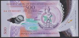Vanuatu 500 Vatu 2017 Pnew UNC - Vanuatu