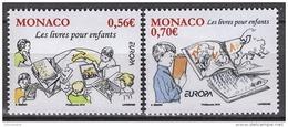 MONACO 2010  - SERIE Y.T. 2739 ET 2740 - NEUFS ** - Monaco