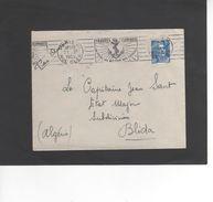 LSC 1952 - Flamme - Troupes Coloniales Un Idéal.un Métier.des Voyages - ANCRE - Marcophilie (Lettres)