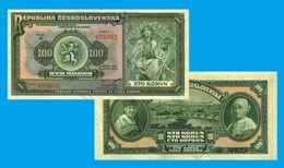 Czechoslovakia  100 KORUN 1920  - REPLICA --  REPRODUCTION - Tschechoslowakei