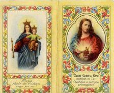 Calendarietto - Maria E Sacro Cuore Di Gesù - Bologna - 1949 - Calendari