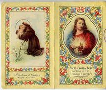 Calendarietto - S.antonio Da Padova E Sacro Cuore Di Gesù - Bologna - 1949 - Calendari