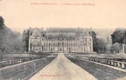 78 - ROSNY-sur-SEINE - Le Château Vu De La Grille D'Entrée - Rosny Sur Seine