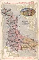 Les Départements : MEURTHE Et MOSELLE - Cartes Géographiques