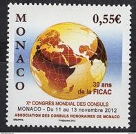 MONACO 2012  - Y.T. 2839 - NEUF** - Monaco