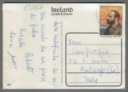 C2757 EIRE IRELAND Postal History 1986 MICHAEL DAVITT (m) - Storia Postale