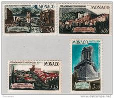 MONACO 1971 - SERIE N° 851 A 854 - 4 TP NEUFS** - Monaco