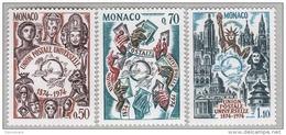 MONACO 1974 - SERIE N° 953 A 955 - 3 TP NEUFS** - Monaco