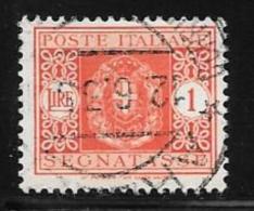 Italy, Scott # J36 Used Postage Due, 1934 - Postage Due