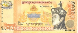 BHUTAN Commemorative Nu 1000 Celebrating The Birth Of The Gyalsey February 5th, 2016 - Bhutan