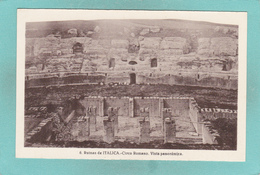 Small Old Postcard Of Ruinas De Italica Circo Romano Italy,K50. - Italy
