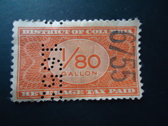 COLOMBIA  USED STAMPS TAX OVERPRINT AND PERFINS - Colombia