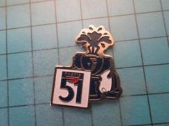Pin710c Pin's Pins : BEAU ET RARE :  BOISSON APERITIF PASTIS 51 FONTAINE DE FRAICHEUR - Beer